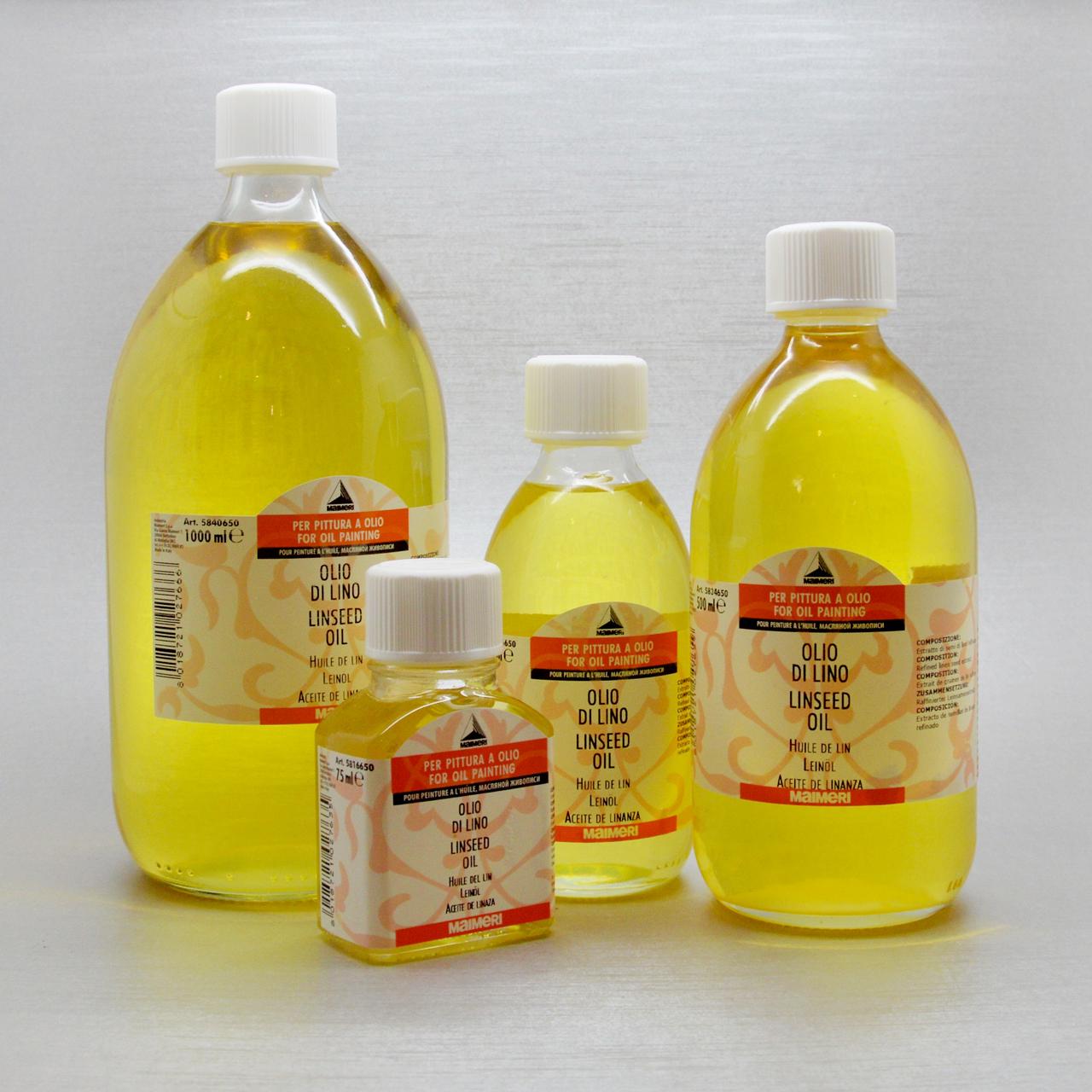 Maimeri - olio di lino - Medium per pittura ad olio - Centro ...