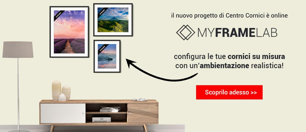 MyFrameLab il nuovo modo di configurare una cornice