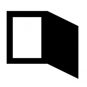 Passepartout essenziale da presentazione - 1,7 mm