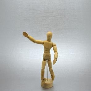 MAIMERI - MANICHINI UOMO IN LEGNO MISURE 10/20/31/41 cm