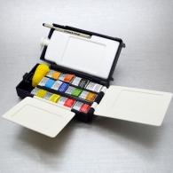 WINSOR & NEWTON SERIE ARTISTI - FIELD BOX ACQUERELLO 12 PZ