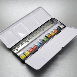 WINSOR & NEWTON SERIE ARTISTI - BLACK BOX ACQUERELLO 12 PZ