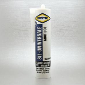 BOSTIK - SILICONE ACETICO UNIVERSALE TRASPARENTE 280 ml.