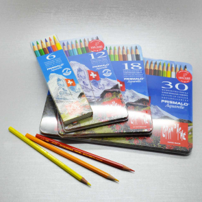 CARAN D'ACHE - SET PRISMALO MATITE COLORATE ACQUERELLABILI