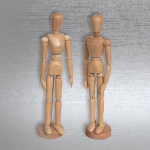 L&B - MANICHINI UOMO/DONNA 30 cm