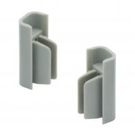 Arti Teq - Finali grigi per chiusura binari conf. 2 pezzi