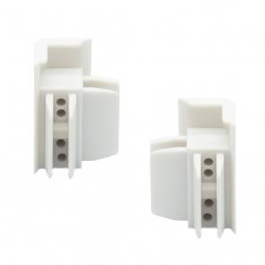 Arti Teq - Connettori angoli bianchi conf. 2 pezzi
