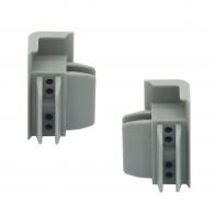 Arti Teq - Connettori angoli grigi conf. 2 pezzi