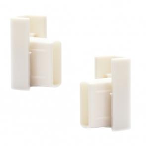 Arti Teq - Finali bianchi per chiusura binari conf. 2 pezzi