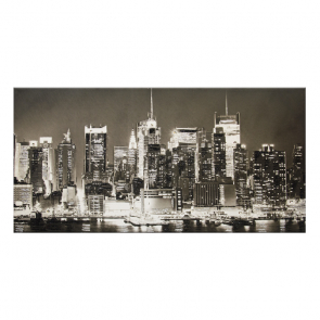 NEW YORK SKYLINE-B/N