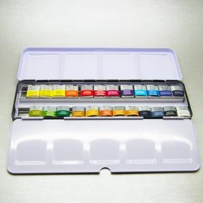 WINSOR & NEWTON SERIE ARTISTI - SKETCHER BOX ACQUERELLO 24 PZ