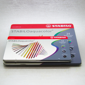 STABILO - SET AQUACOLOR PASTELLI ACQUARELLBILI