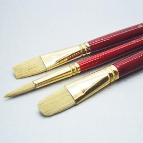 DALER ROWNEY - SET SIMPLY 10 PENNELLI SETOLA BIANCA