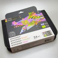 WINSOR & NEWTON - Promarker Mixed Marker Set 24 pz